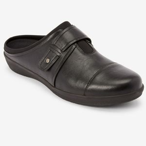 New! Comfortview The Maeve Mule Black Lightweight
